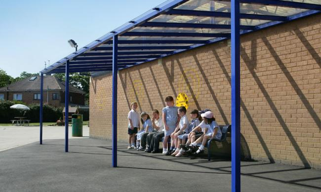Studland Infant School & Canopies: Wide range including School u0026 Entrance Canopies - UK Company