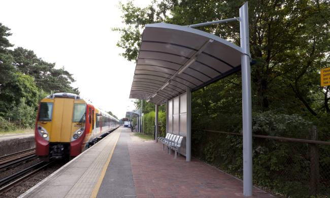South West Trains Station Canopy